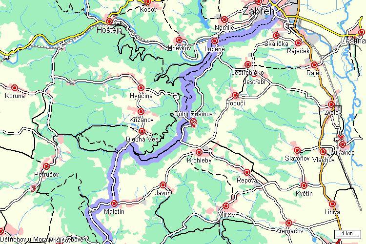 Zabreh Svojanov Turisticka Trasa Severni Morava A Slezsko