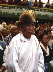 Slavnost v sídle tibetské exilové vlády v indické Dharamsale
