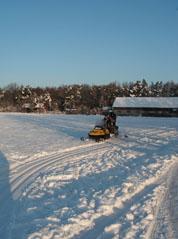 Sněžný skůtr MěÚ Prostějov
